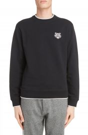 KENZO Wool Patch Pullover at Nordstrom