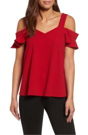 KUT from the Cloth Erika Cold Shoulder Top at Nordstrom