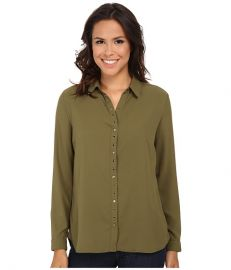 KUT from the Kloth Lexi Top Fir Green at Zappos