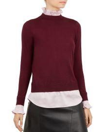 Kaarina Layered-Look Sweater at Bloomingdales
