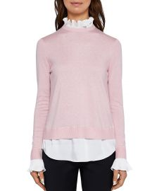 Kaarina Layered-Look Sweater ted baker at Bloomingdales