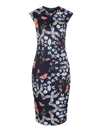 Kairra Kyoto Gardens Dress by Ted Baker at Amazon