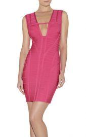 Kane Dress in Pink at Herve Leger
