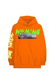 Kanye West Wyoming Hoodie Orange From Listening Party at Grailed