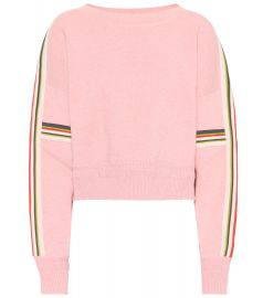 Kao Cotton-Blend Sweater by Isabel Marant Etoile at Mytheresa
