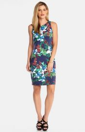 Karen Kane and39Island Floraland39 Body-Con Dress at Nordstrom