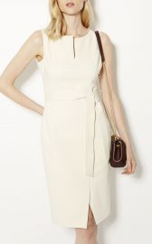Karen Millen v-neck wrap pencil dress at Karen Millen