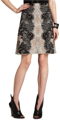 Karlie lace jacquard skirt at Bcbgmaxazria