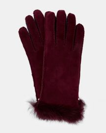 Kassidy Classic shearling gloves at Ted Baker