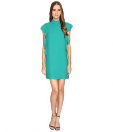 Kate Spade New York Satin Crepe Flutter Sleeve Dress at 6pm