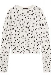 Kate Moss Ryder printed cashmere sweater at The Outnet