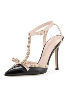 Kate Spade Lydia Studded Pumps at Neiman Marcus