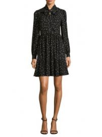Kate Spade New York - Polka Dot Shirt Dress at Saks Fifth Avenue