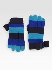 Kate Spade New York - Striped Wool Gloves at Saks Fifth Avenue