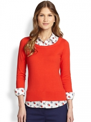 Kate Spade New York - Yardley Two-Fer Sweater at Saks Fifth Avenue