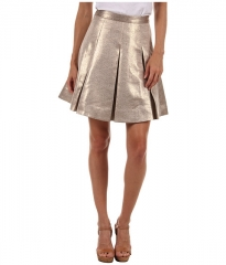 Kate Spade New York Ariella Skirt Perfect Beige Gold Dobby at 6pm
