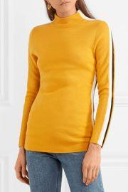 Kawai striped merino wool-blend sweater at Net A Porter