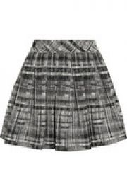Kayla pleated boucl mini skirt at The Outnet