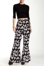 Keep Blooming Floral Print Flare Pant at Nordstrom Rack