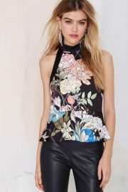 Keepsake Peplum Top at Nasty Gal