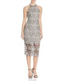 Keepsake True Love Embroidered Lace Dress at Bloomingdales