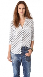 Keira Country Filigree blouse by Equipment at Shopbop