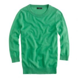 Kelly Green Tippi Sweater at J. Crew
