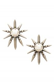 Kendra Scott Rogan Pearl Stud Earrings at Nordstrom