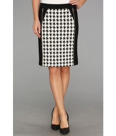 Kenneth Cole New York Justina Skirt WhiteBlack at 6pm