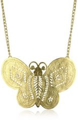 Kenneth Jay Lane Butterfly Necklace at Amazon