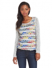 Kensie mixed yarn sweater at Amazon