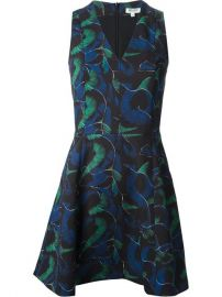 Kenzo Abstract Print Skater Dress - at Farfetch