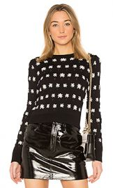 Kenzo Floral Jackie Sweater in Black from Revolve com at Revolve