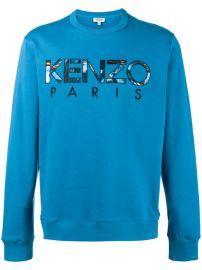 Kenzo Logo Sweatshirt  240 - Buy Online - Mobile Friendly  Fast Delivery  Price at Farfetch