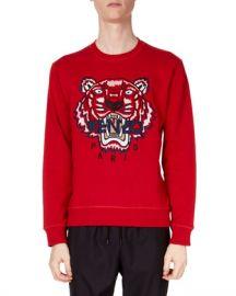 Kenzo Men  x27 s Classic Tiger-Graphic Sweatshirt at Neiman Marcus