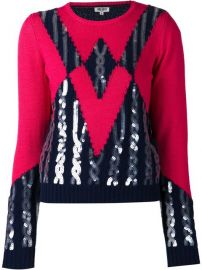 Kenzo Sequined Sweater - at Farfetch