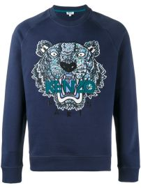 Kenzo Tiger Embroidered Sweatshirt  310 - Buy AW17 Online - Fast Delivery  Price at Farfetch