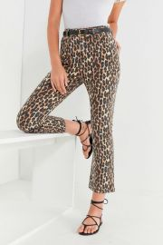 Kick Flare High-Rise Cropped Jean by BDG at Urban Outfitters