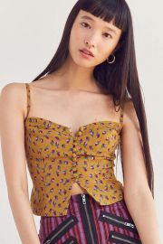 Kimchi Blue Betty Marie Corset Tank Top at Urban Outfitters