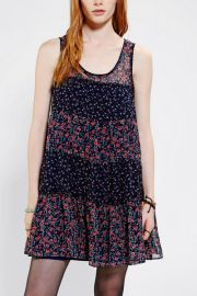 Kimchi Blue Floral Prairie Dress at Urban Outfitters