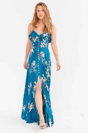 Kimchi Blue La Playa Button-Down Maxi Dress at Urban Outfitters