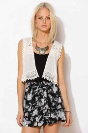 Kimchi Blue Macaroon Vest at Urban Outfitters