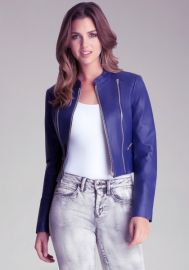 Kimmie Cropped Jacket at Bebe