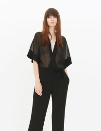 Kimonia Jumpsuit at Sandro