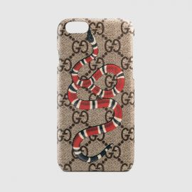 Kingsnake print iPhone 6 case by Gucci at Gucci