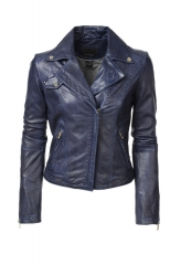 Kirsten Lamb Leather Jacket at Danier