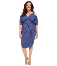 Kiyonna Tantalizing Twist Dress at Zappos com at Zappos
