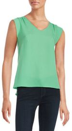 Knit V-neck Top at Lord & Taylor