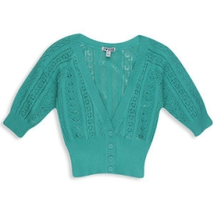 Knit cropped cardigan at Forever 21