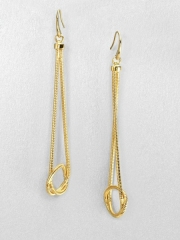 Knotted snake chain drop earrings by Michael Kors at Saks Fifth Avenue